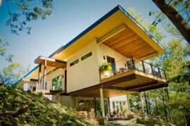 Asheville hemp house hempcrete
